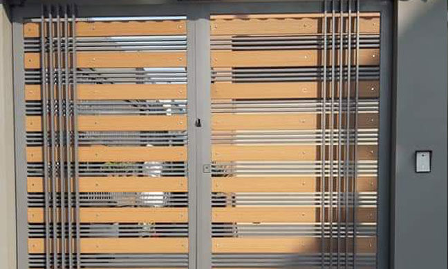 Cửa cổng 09